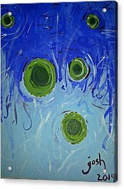 The Gravity Of This Or That Acrylic Print by Yshua The Painter
