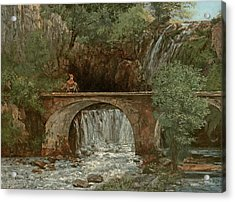 The Great Bridge, 1864 Acrylic Print by Gustave Courbet