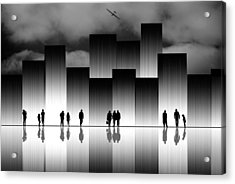 The Great City Acrylic Print