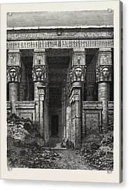 The Great Court Of Heaven Acrylic Print by Litz Collection