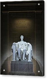 The Great Emancipator Acrylic Print by Metro DC Photography