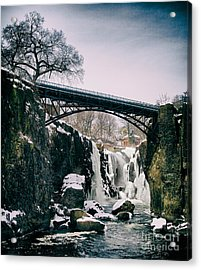 The Great Falls Of Paterson Acrylic Print