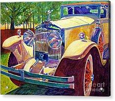 The Great Gatsby Acrylic Print by David Lloyd Glover