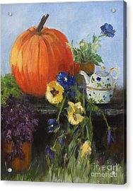 The Great Pumpkin Acrylic Print by Sandy Lane