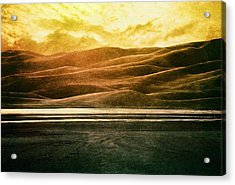 The Great Sand Dunes Acrylic Print by Brett Pfister