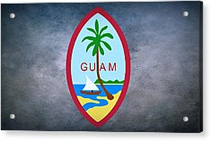 The Great Seal Of Guam Territory Of Usa  Acrylic Print by Movie Poster Prints