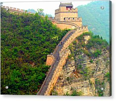Acrylic Print featuring the photograph The Great Wall 2 by Kay Gilley