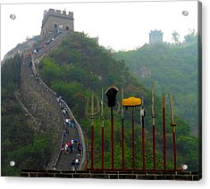 The Great Wall Acrylic Print by Kay Gilley