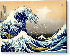The Great Wave At Kanagawa Acrylic Print
