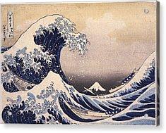 The Great Wave Off The Coast Of Kanagawa Acrylic Print