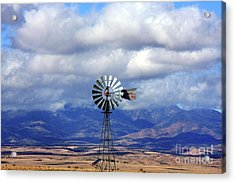 The Great Western Windmill Acrylic Print