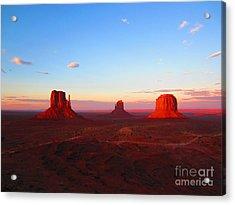 The Greatest View Acrylic Print by C Lythgo