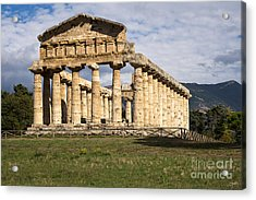 The Greek Temple Of Athena Acrylic Print