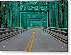 The Green Bridge Acrylic Print
