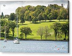 The Green Hills Of Lunenburg Acrylic Print
