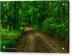 The Green Mile Acrylic Print by Paul Herrmann
