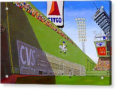 The Green Monster Acrylic Print by Mike Gruber