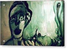 The Green Queen Acrylic Print