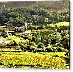 Acrylic Print featuring the photograph The Green Valley Of Poisoned Glen by Charlie and Norma Brock