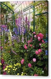 The Greenhouse Acrylic Print by Jessica Jenney