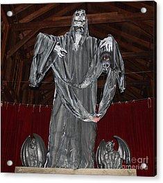 The Grim Reaper Acrylic Print by John Telfer
