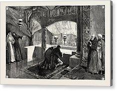 The Grotto Of The Nativity Bethlehem Acrylic Print