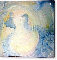 The  Guardian Angels  Acrylic Print by Shoshana Donaya