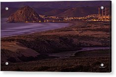 The Guardian--- Morro Bay Acrylic Print
