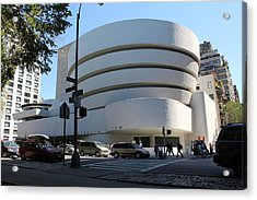 The Guggenheim Museum - New York Acrylic Print
