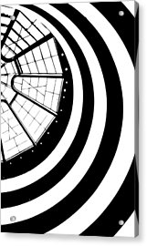 The Guggenheim Acrylic Print by Scott Norris