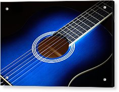 Acrylic Print featuring the photograph The Guitar by Keith Hawley