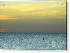 The Gulf Of Mexico Acrylic Print