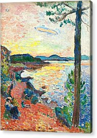 The Gulf Of Saint Tropez Acrylic Print by Henri Matisse
