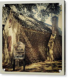 The Gullah Theater At Boone Hall Acrylic Print