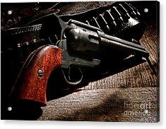 The Gun That Won The West Acrylic Print
