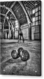 The Gym Acrylic Print by Jason Green