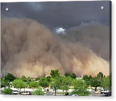 The Haboob Is Coming Acrylic Print