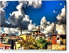 The Hagia Sophia Acrylic Print by Mark Alexander
