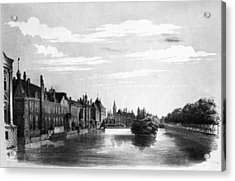 The Hague Canal Acrylic Print by Granger