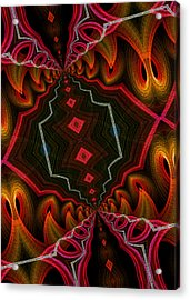 Acrylic Print featuring the digital art The Hall Of The Apostolates by Owlspook