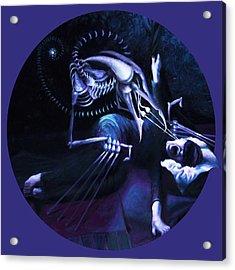 The Hallucinator Acrylic Print by Shelley  Irish