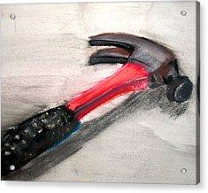 The Hammer Acrylic Print by Ryan Burton