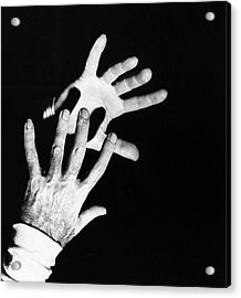 The Hands Of Dr. Michael Debakey Acrylic Print