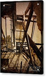 Acrylic Print featuring the photograph The Hanging Door by Liz  Alderdice