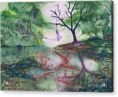 The Hanging Tree  Acrylic Print