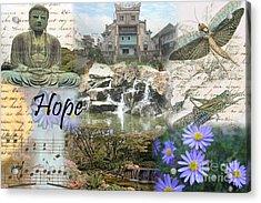 The Happy Buddah Acrylic Print