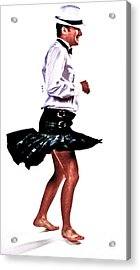 The Happy Dance Acrylic Print by Xn Tyler