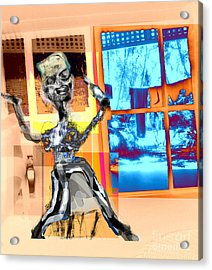 The Happy Drunk Acrylic Print by Rc Rcd