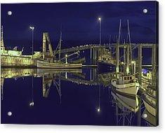 The Harbor At 1030pm Acrylic Print