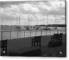 The Harbor Acrylic Print